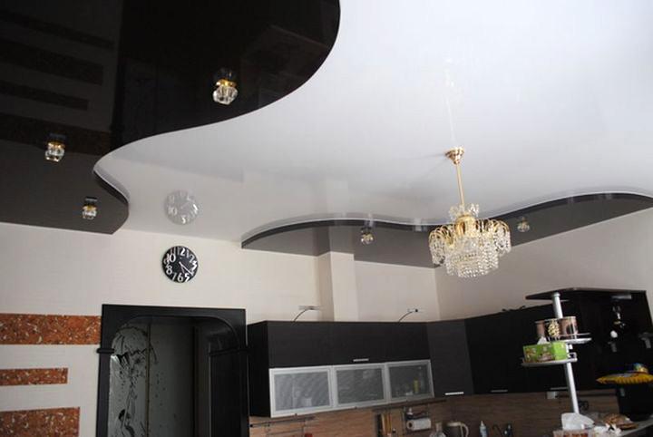 черный натяжной потолок фото_3.jpg