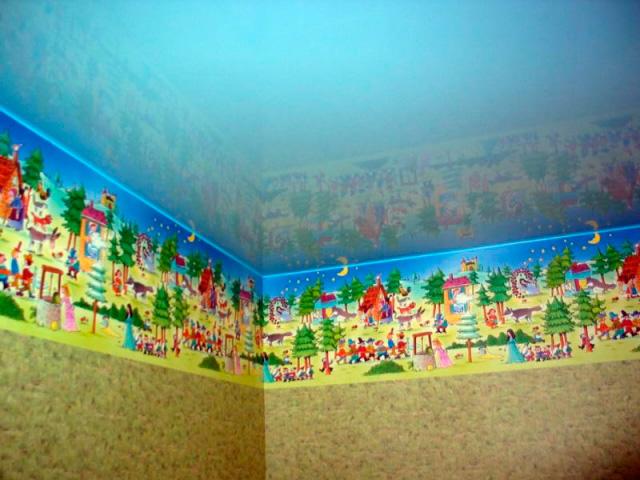 натяжные потолки в детской фото_2.jpg
