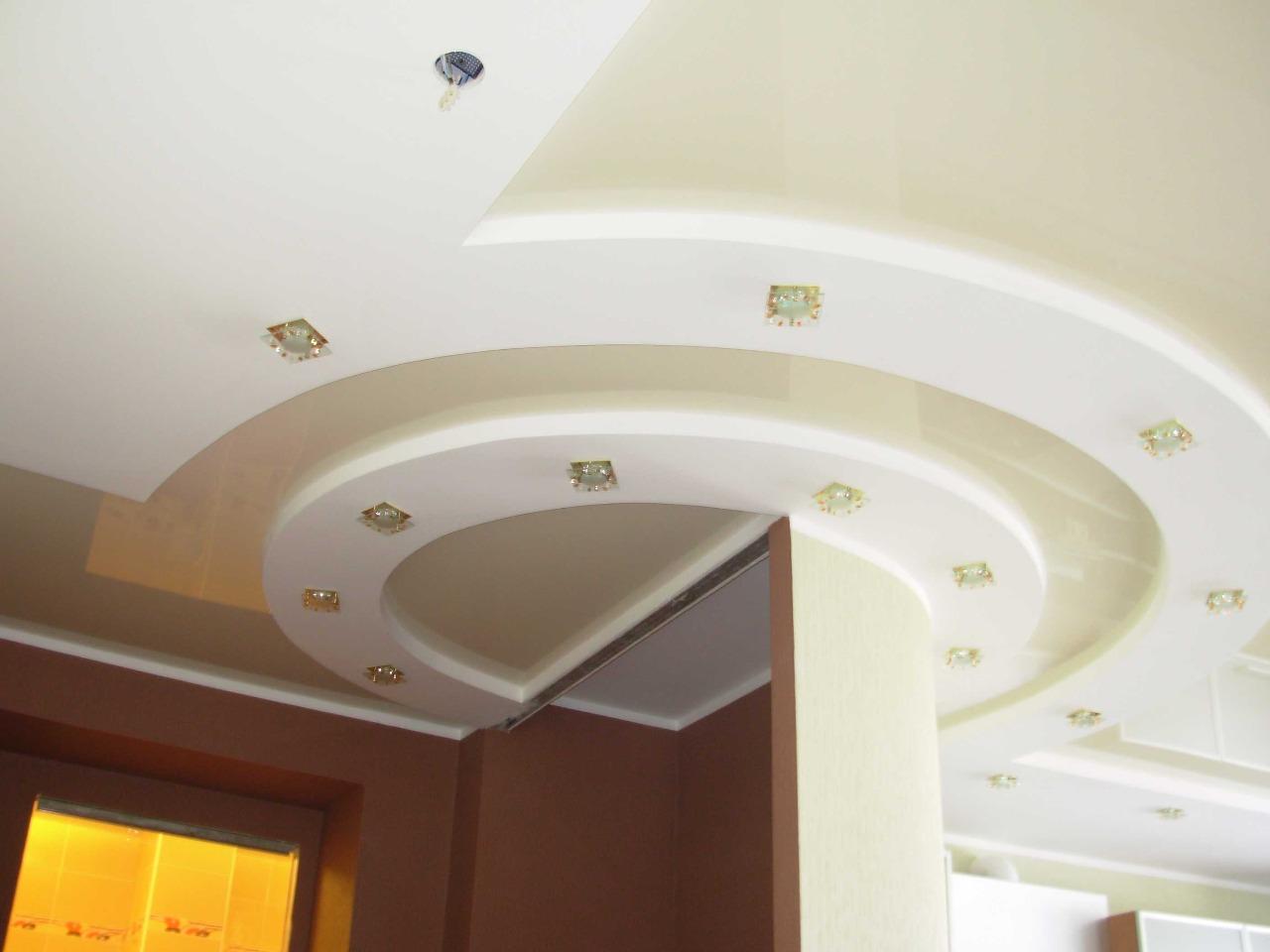 комбинированные натяжные потолки фото_19.JPG