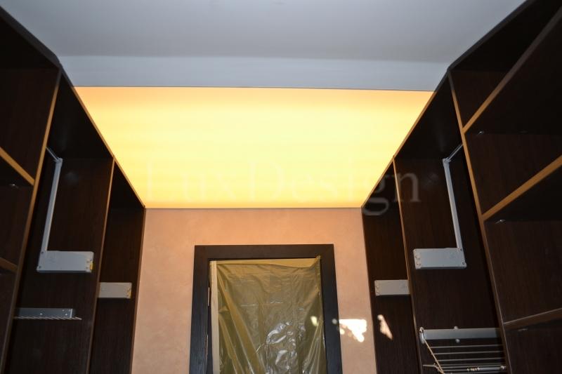 Светодиодный потолок в мансарде.JPG
