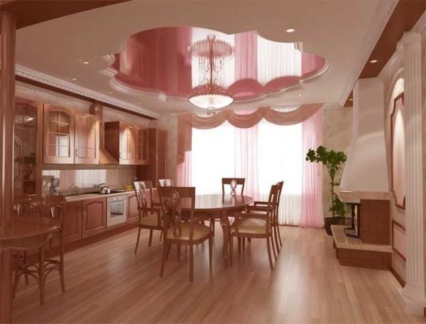 натяжные потолки на кухне фото_4.jpg