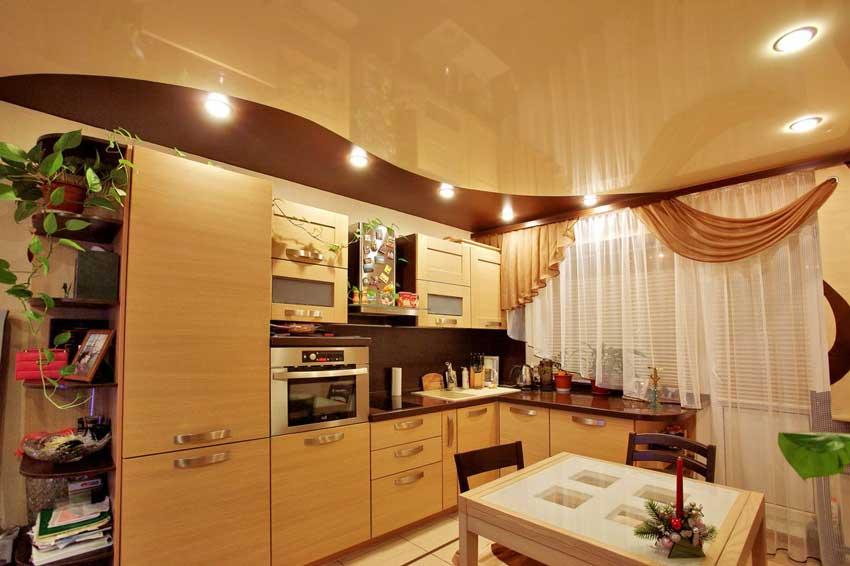 натяжные потолки на кухне фото_8.jpg