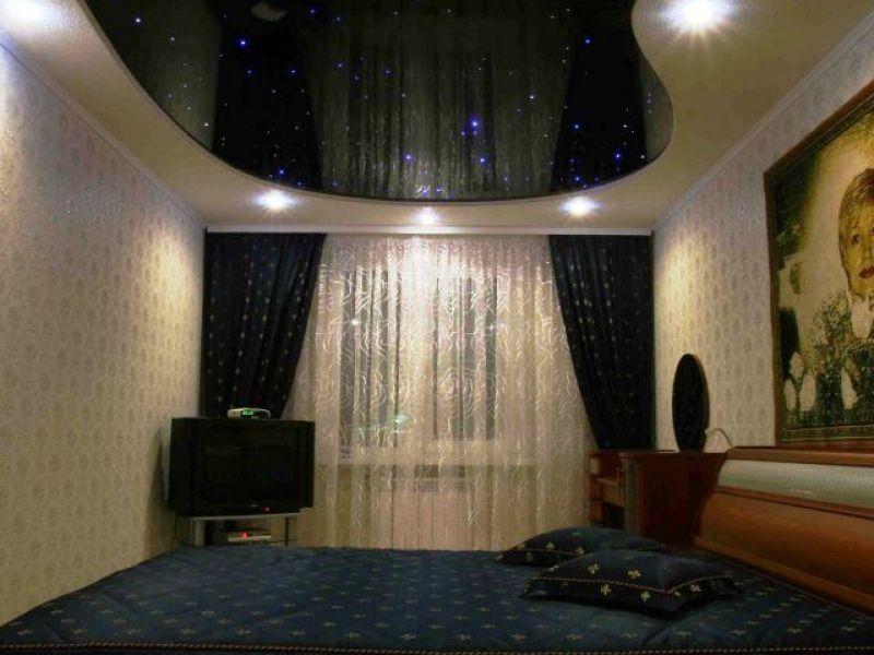 черный натяжной потолок фото_10.jpg