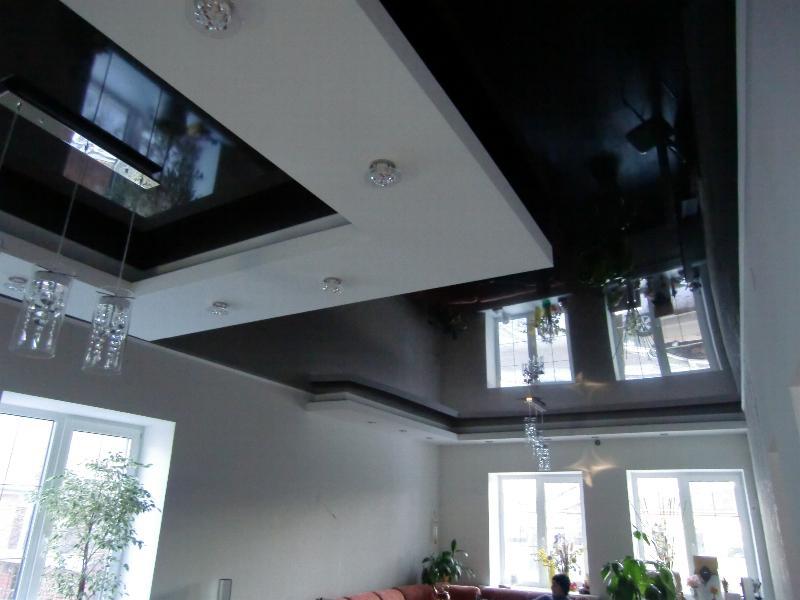черный натяжной потолок фото_15.jpg