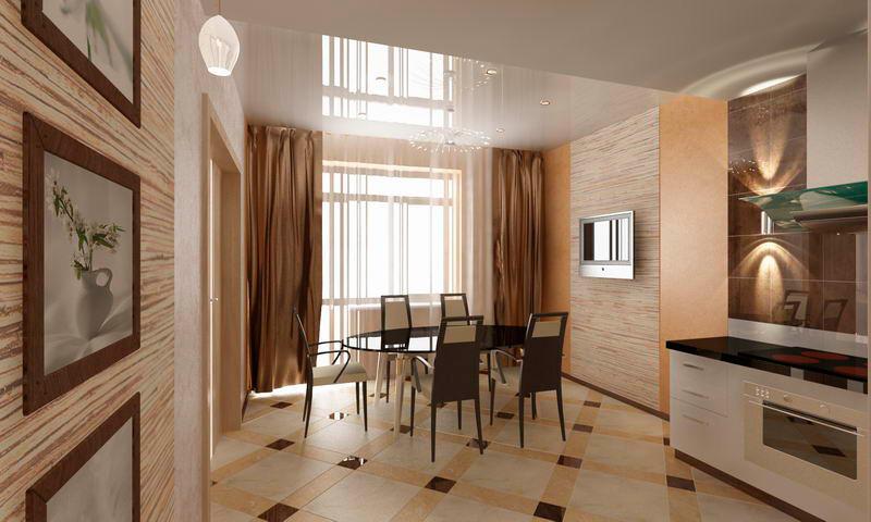 натяжные потолки на кухне фото.jpg