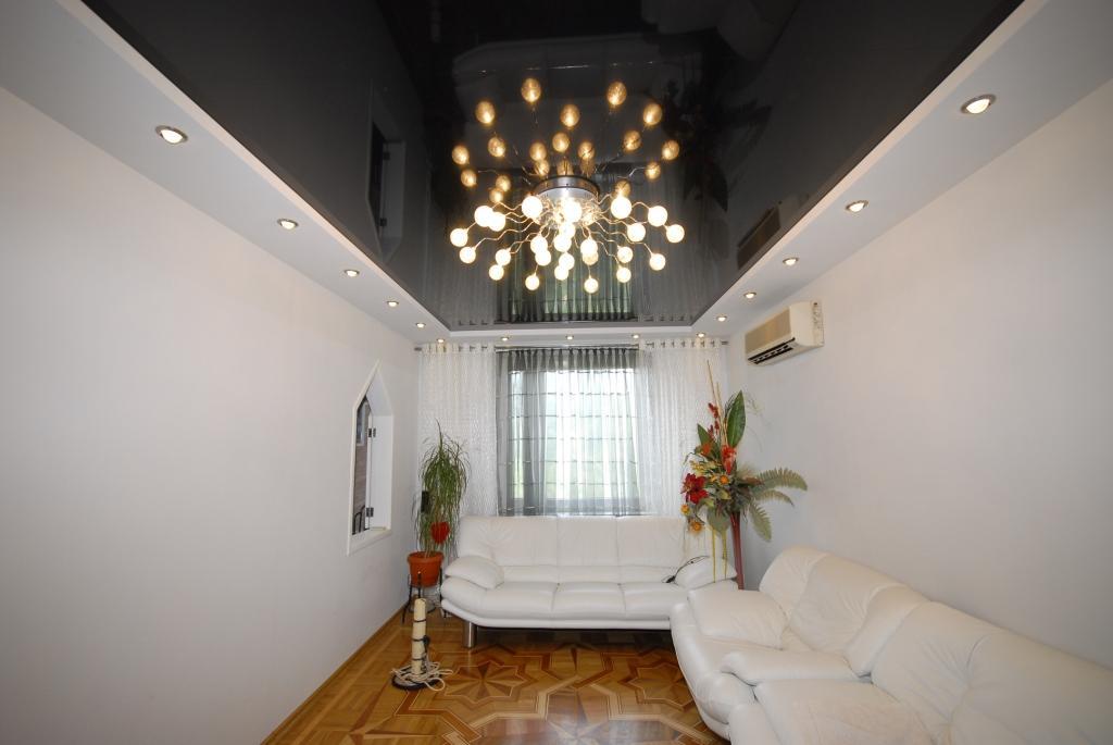 черный натяжной потолок фото_6.jpg