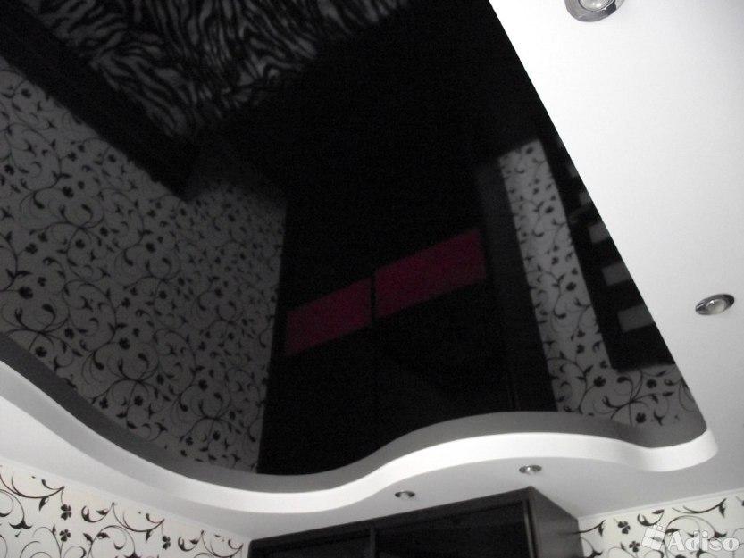 черный натяжной потолок фото_9.jpg