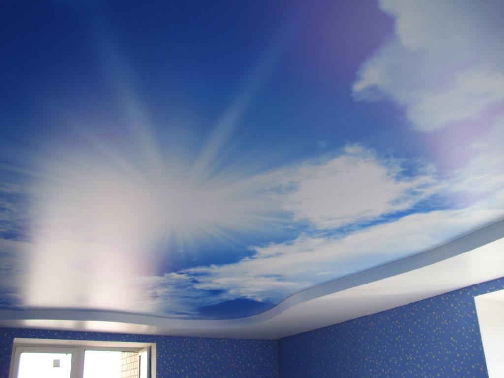 натяжные потолки небо с облаками фото_21.JPG