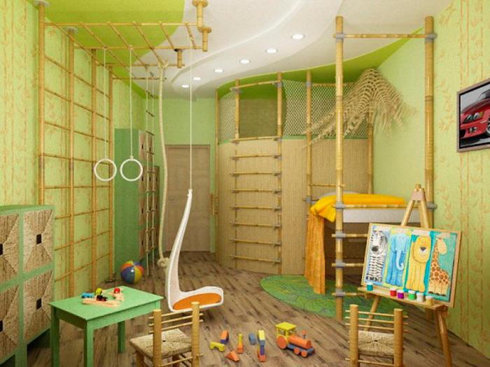 натяжные потолки в детской фото_3.jpg