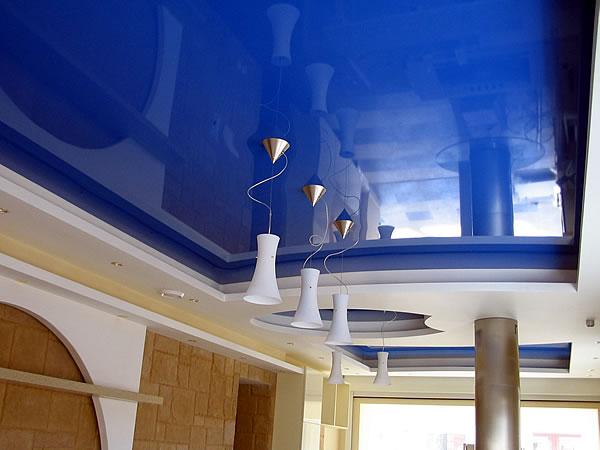 Как сделать потолок в комнате недорого