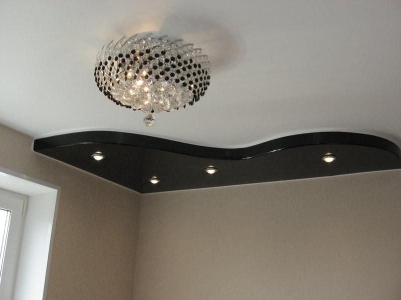 черный натяжной потолок фото_5.jpg